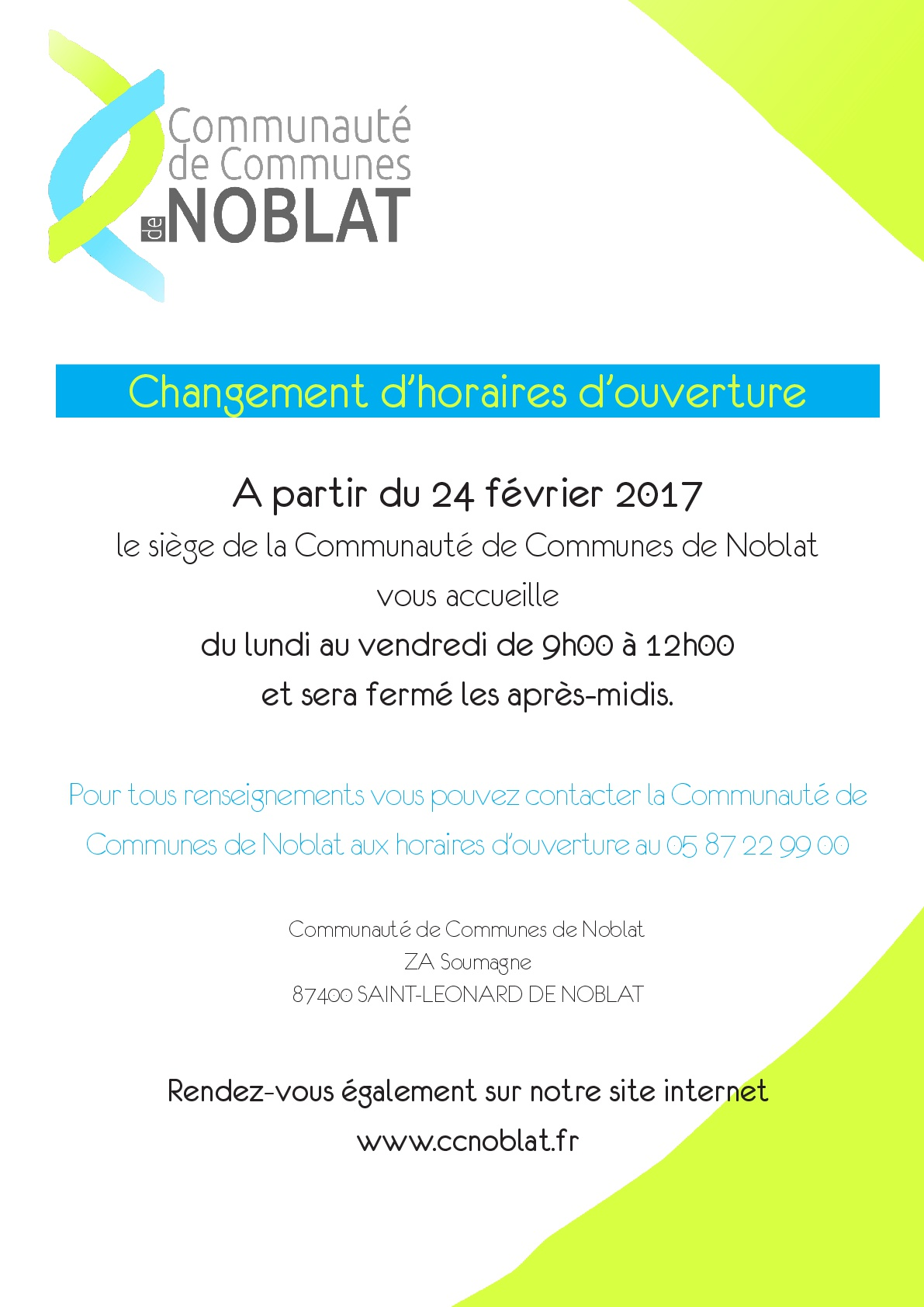 Communaut de communes de noblat - Office de tourisme saint leonard de noblat ...